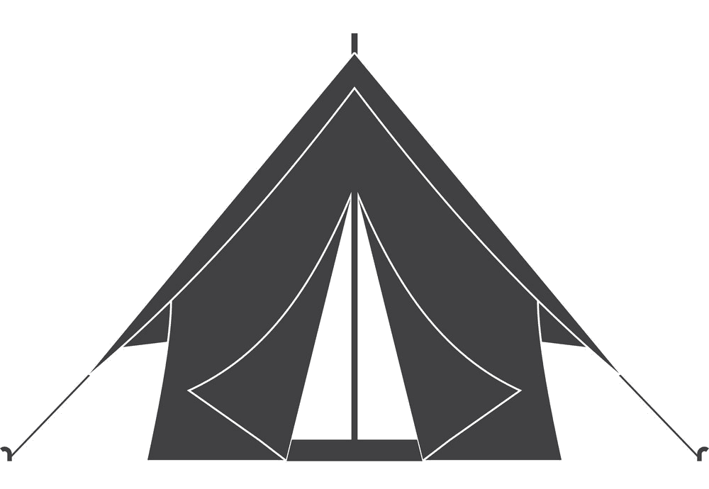 Camping Tent clipart free image