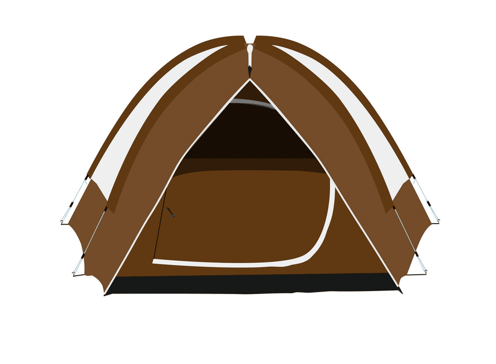 Camping Tent clipart free images