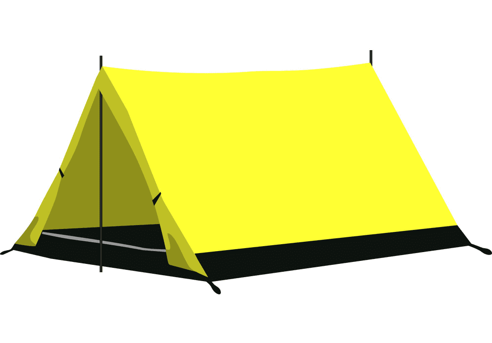 Camping Tent clipart free