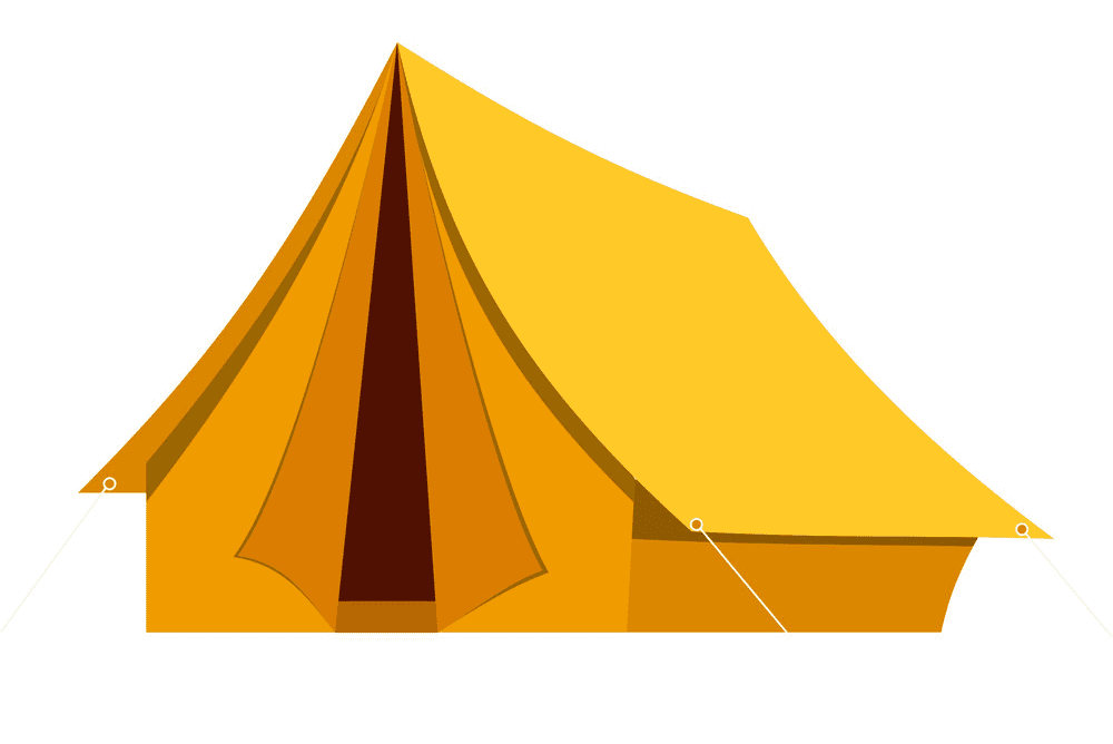 Camping Tent clipart image