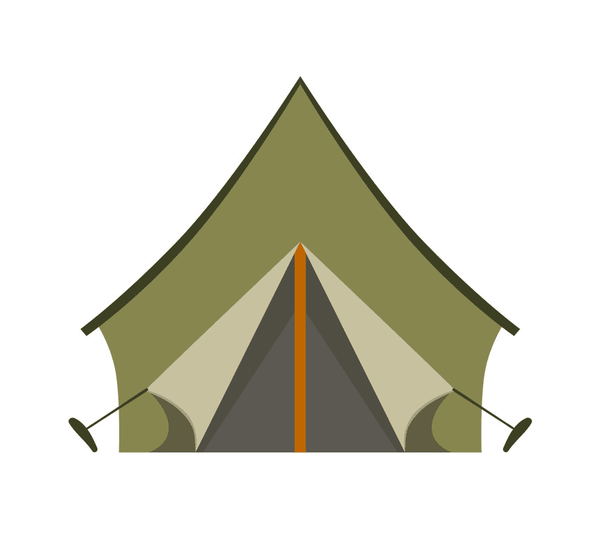 Camping Tent clipart images