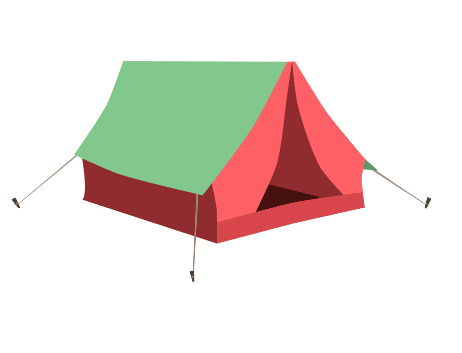 Camping Tent clipart png free