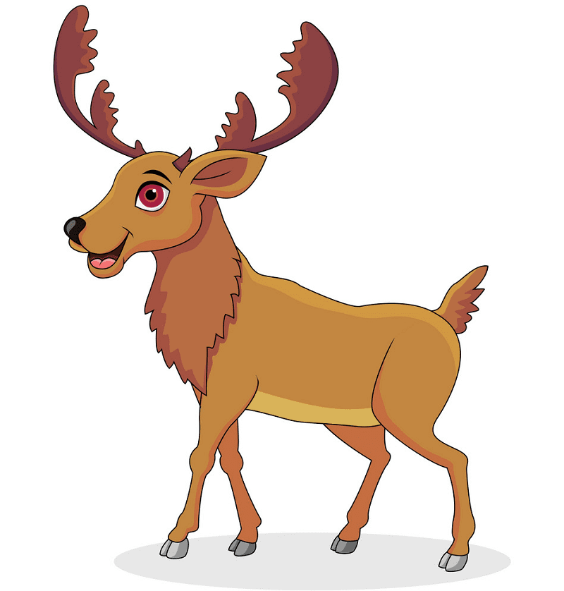 Cartoon Moose clipart