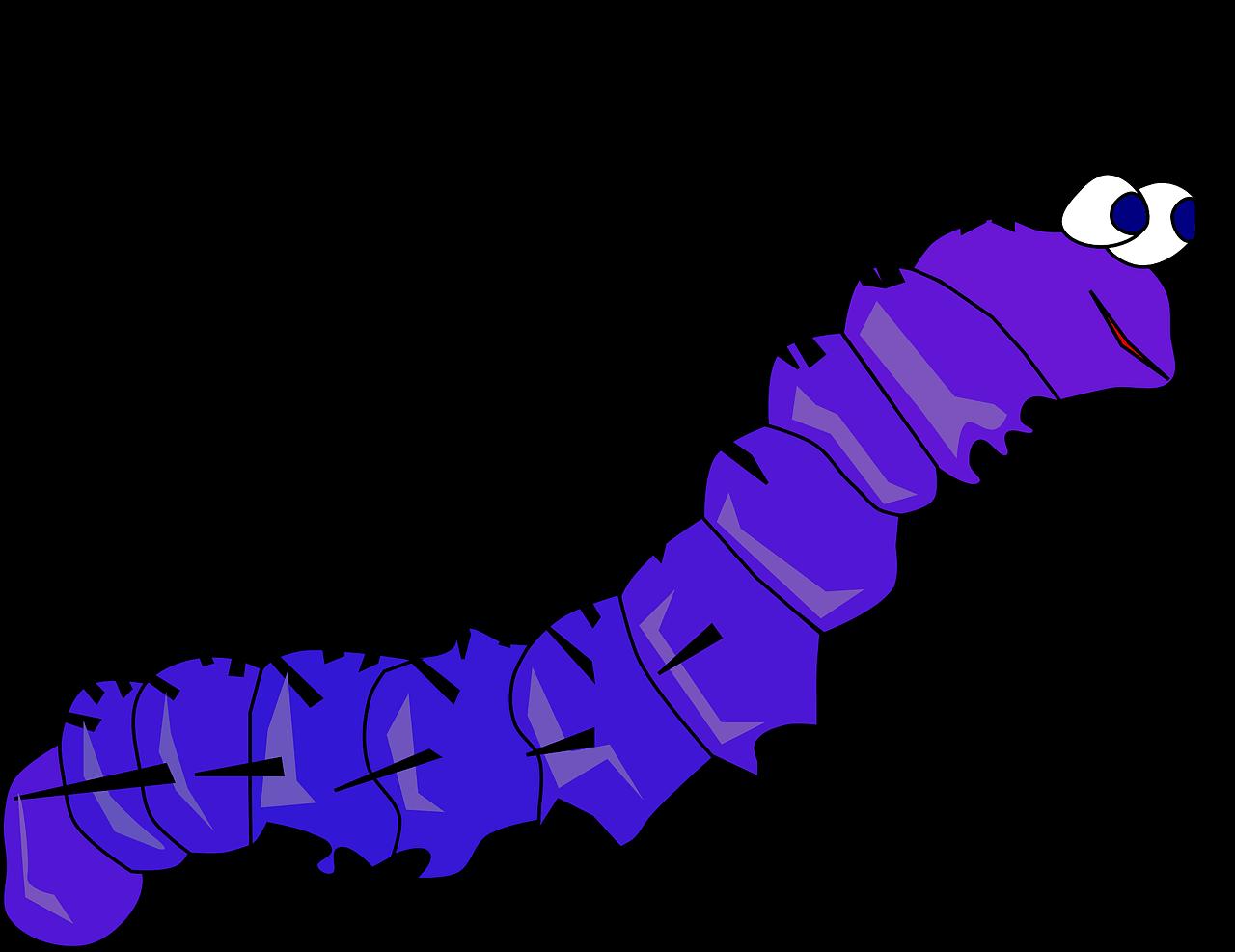 Caterpillar clipart transparent background 5
