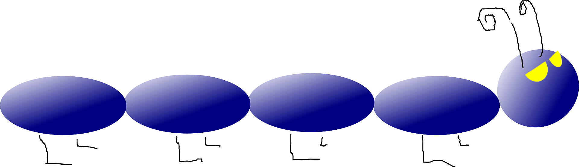 Caterpillar clipart transparent png