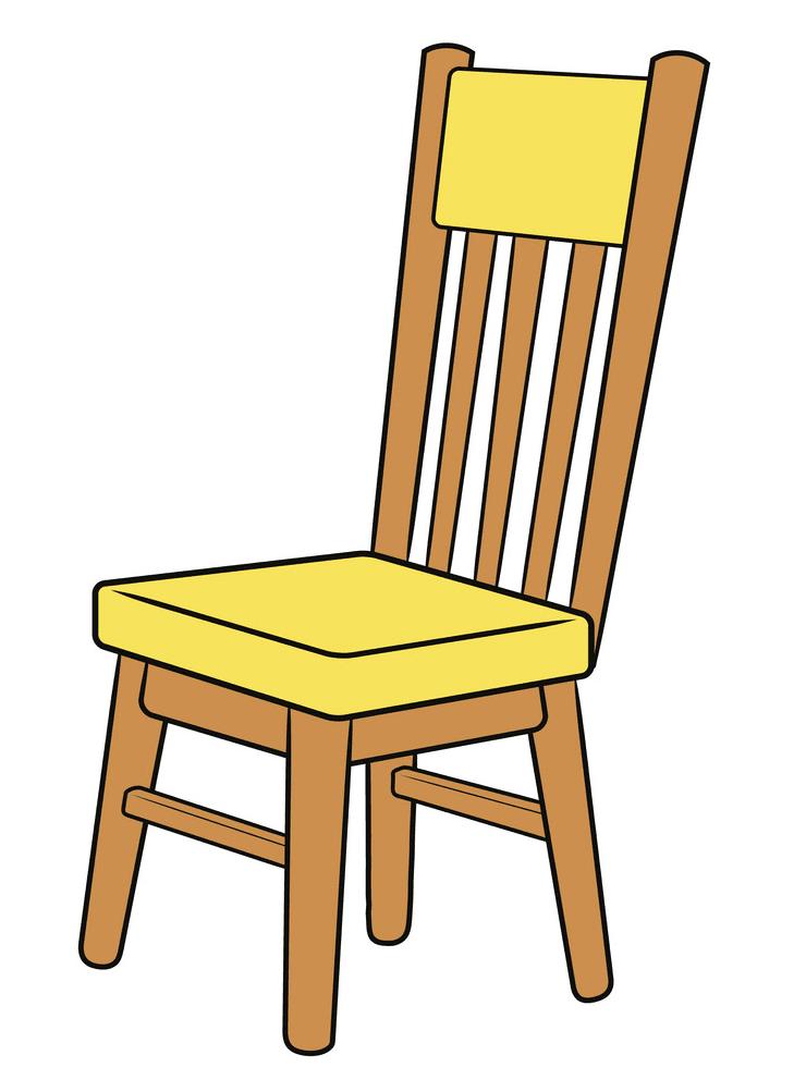 Chair clipart 7