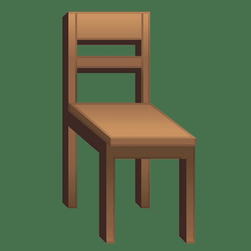 Chair clipart transparent 14