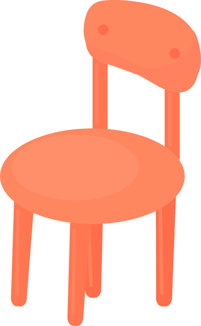 Chair clipart transparent 2