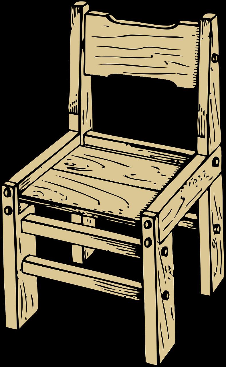 Chair clipart transparent 8
