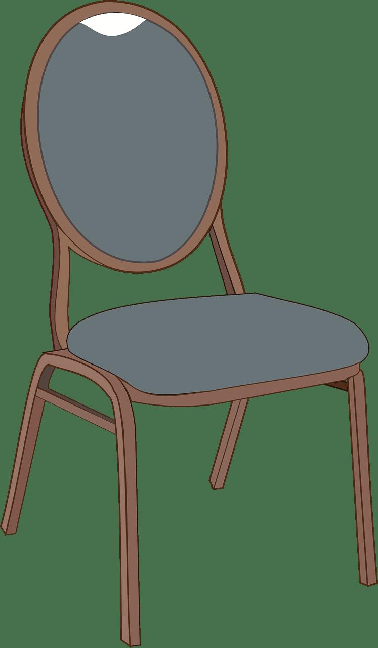 Chair clipart transparent background 5