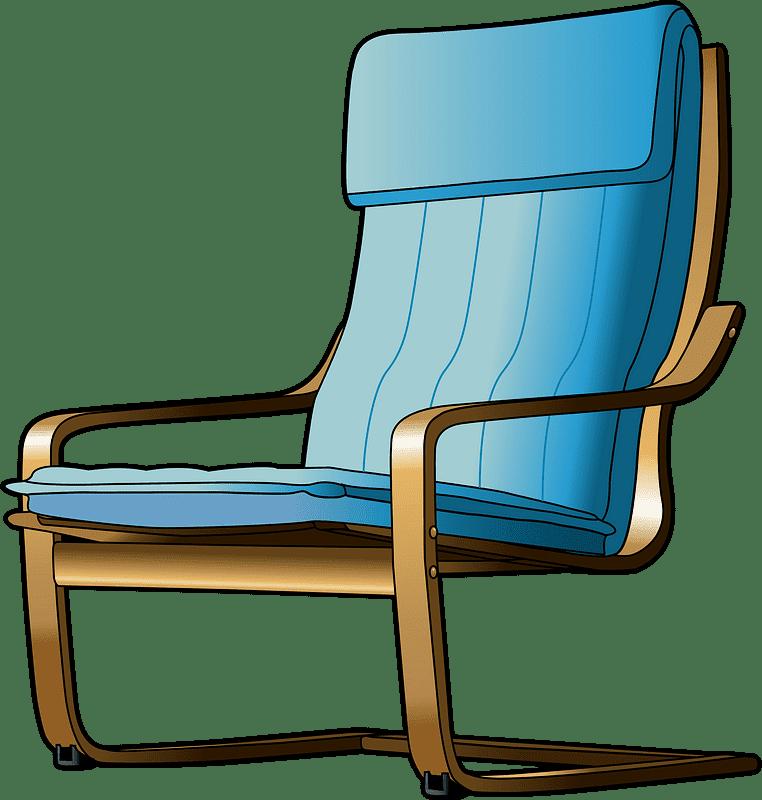 Chair clipart transparent background 7