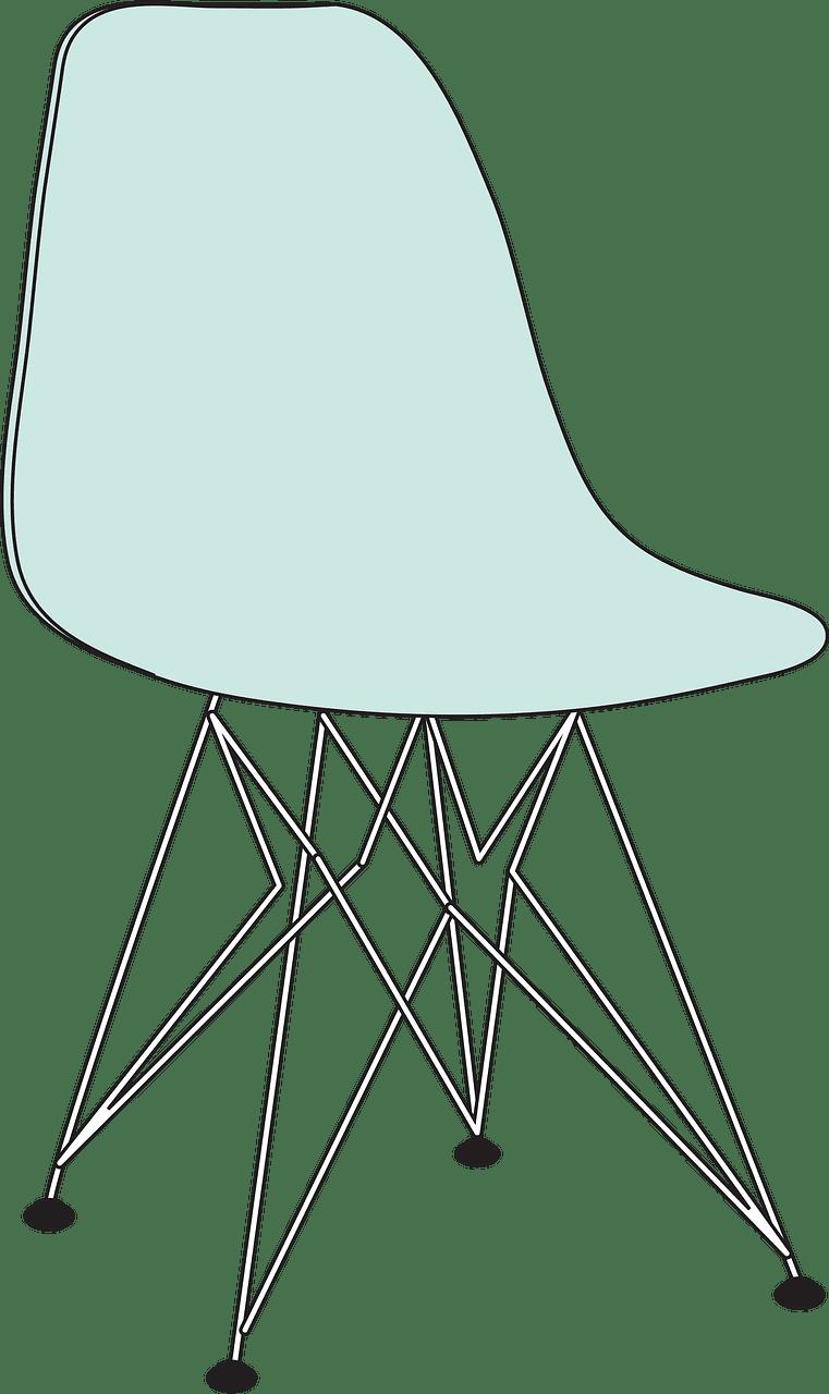 Chair clipart transparent background 8