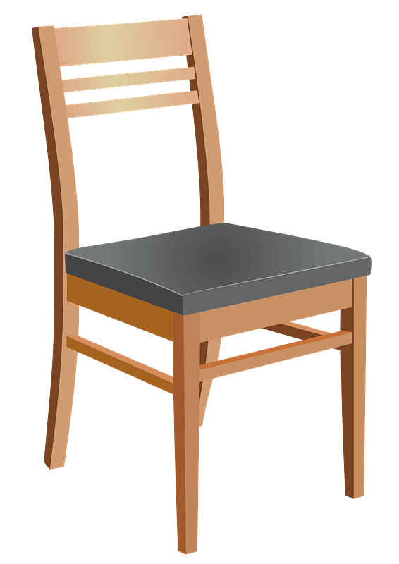 Chair clipart transparent for free