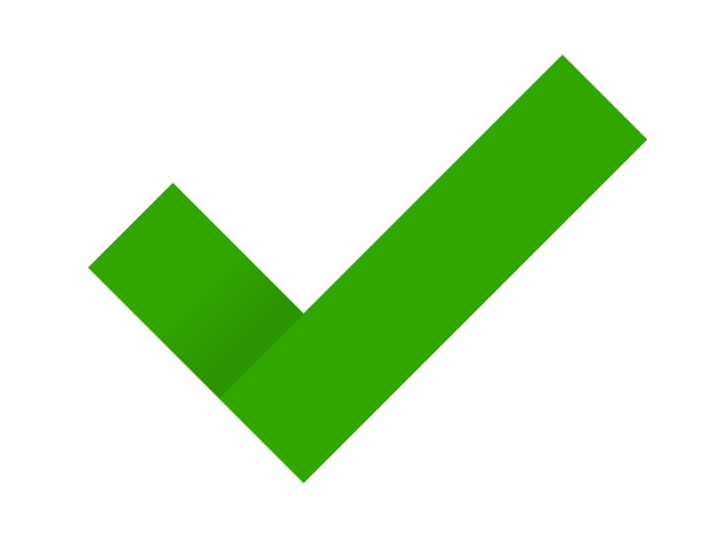 Check Mark clipart png image