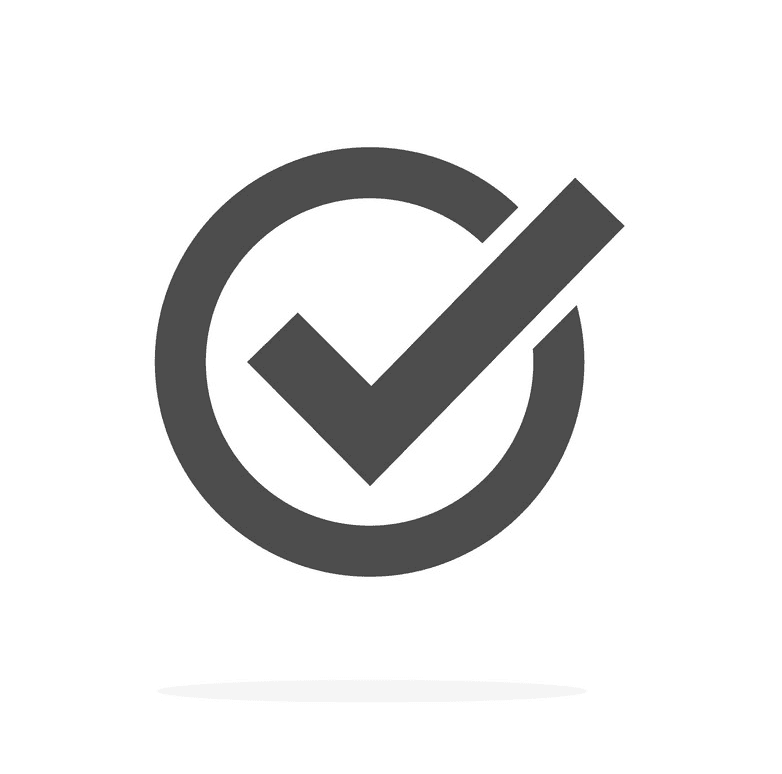 Check Mark clipart png