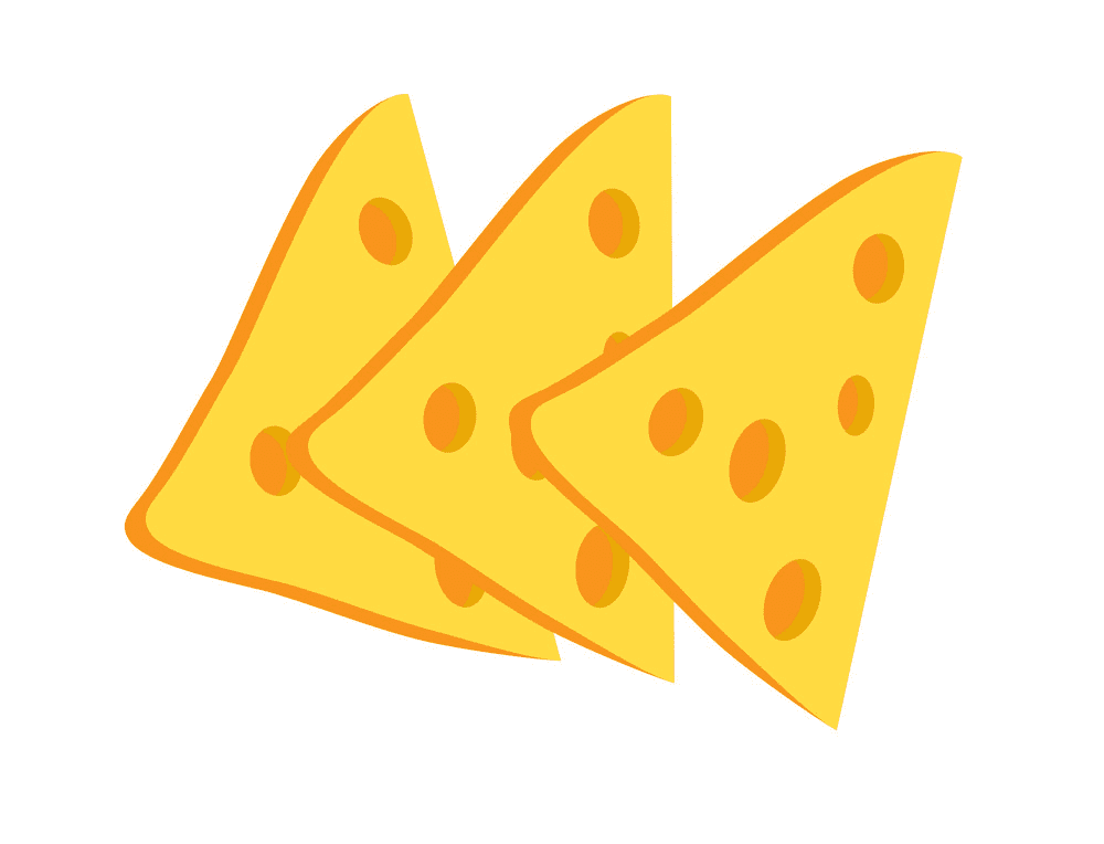 Cheese Slices clipart