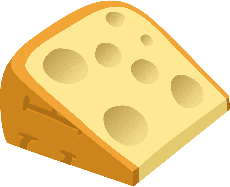 Cheese clipart transparent 13
