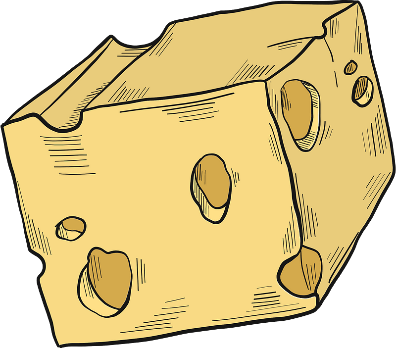 Cheese clipart transparent 3