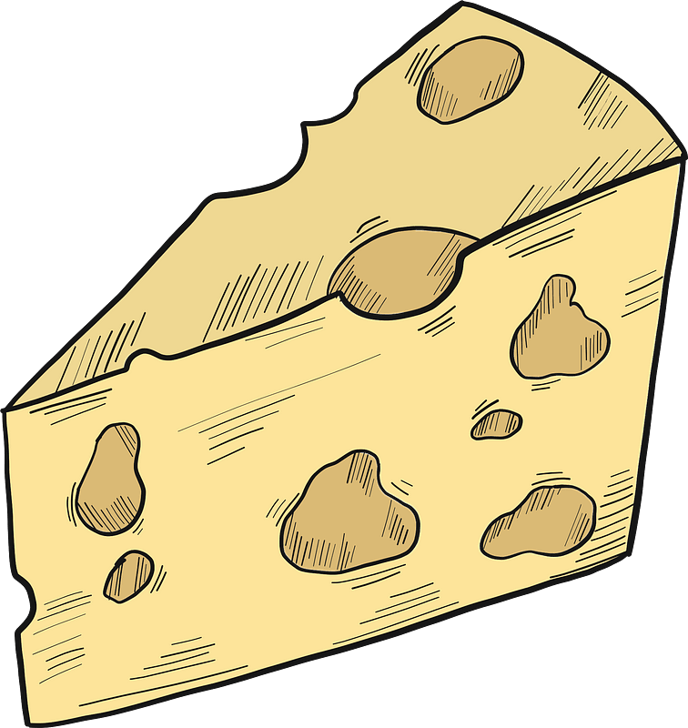 Cheese clipart transparent 4