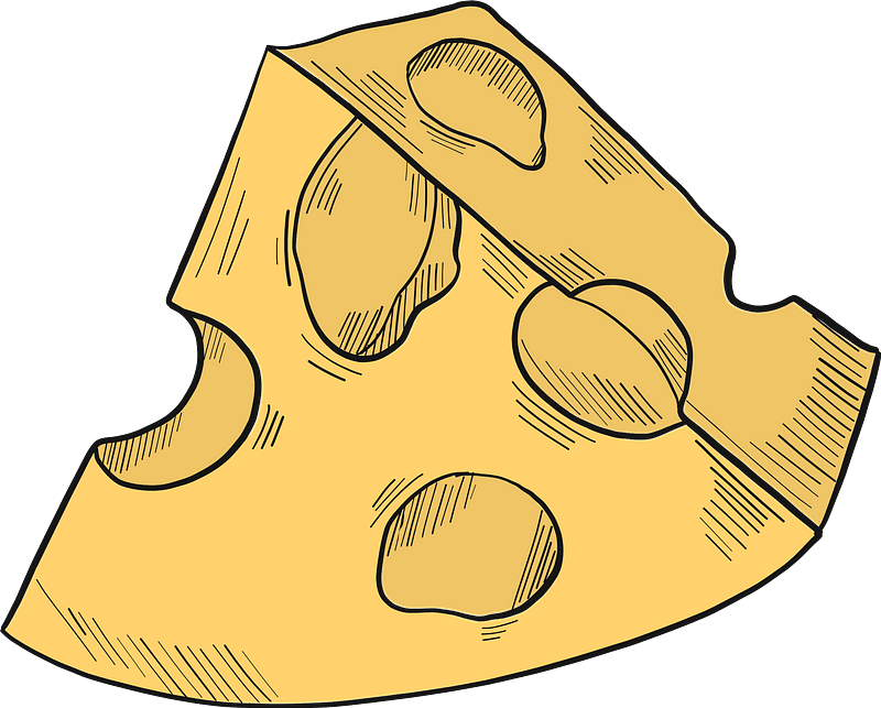 Cheese clipart transparent 6
