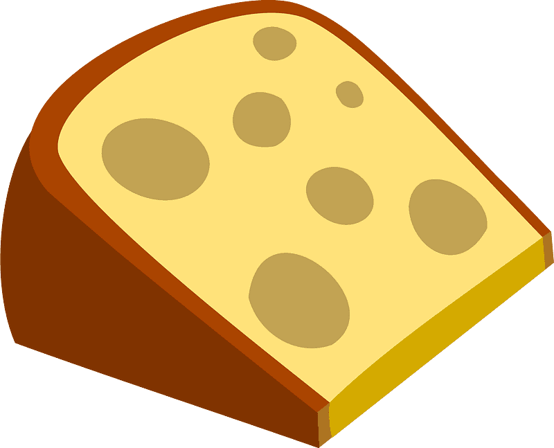 Cheese clipart transparent background 3