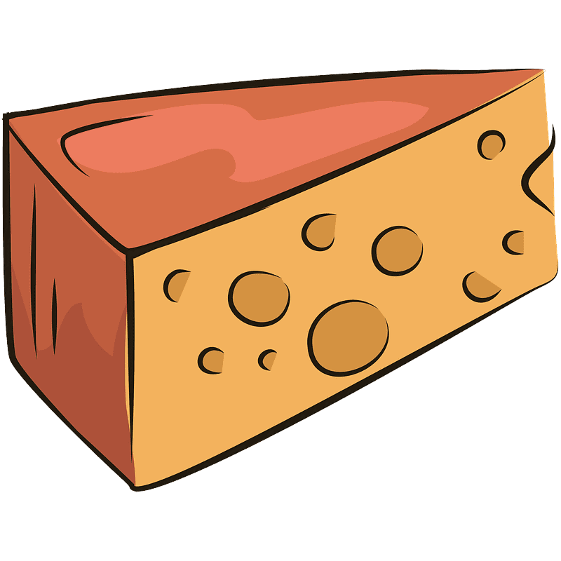 Cheese clipart transparent background 4