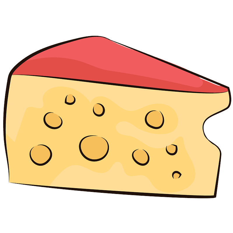 Cheese clipart transparent background 5