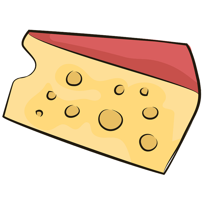 Cheese clipart transparent background 6