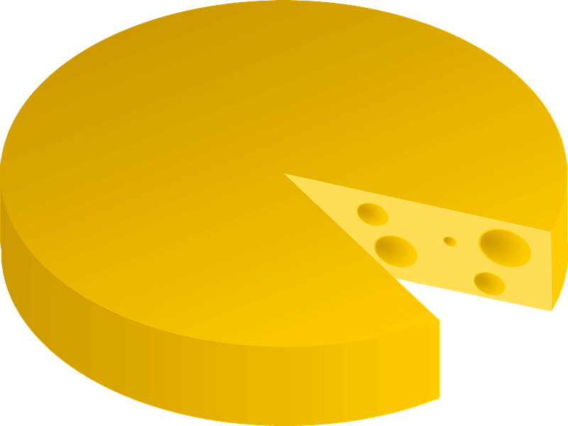 Cheese clipart transparent free