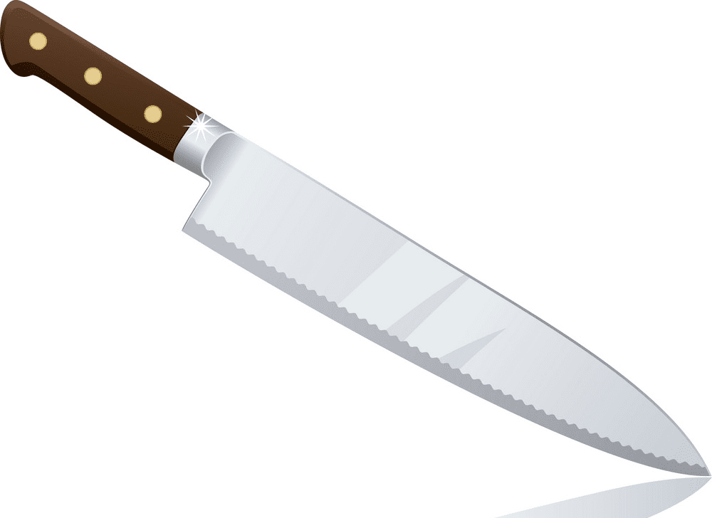 Chef Knife clipart