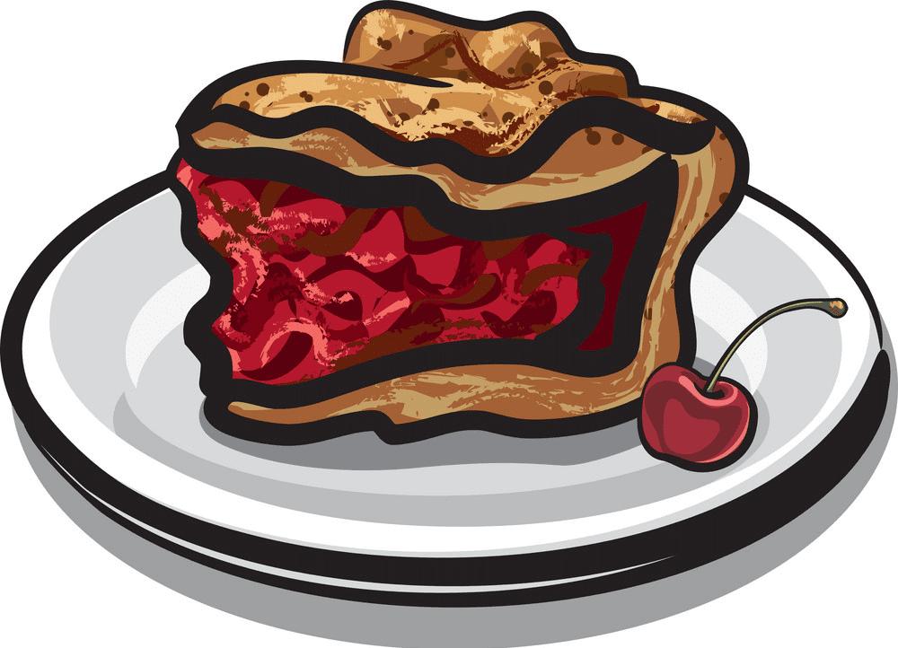 Cherry Pie clipart free