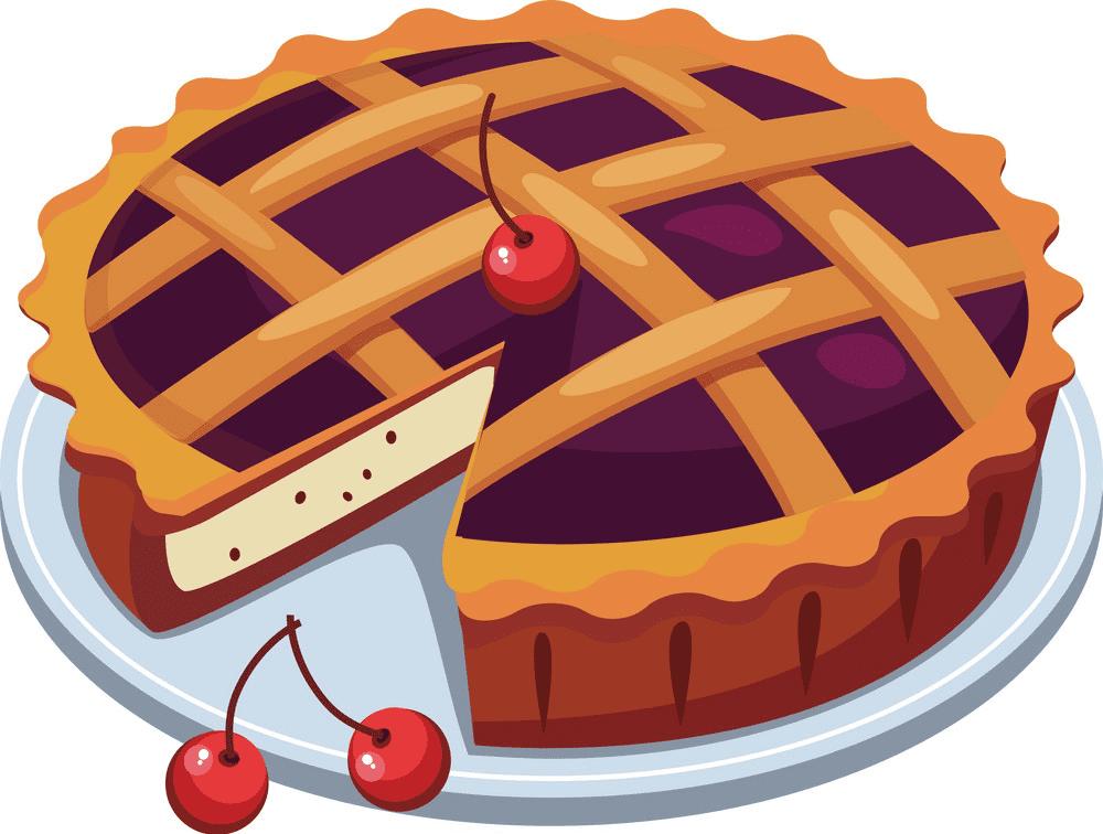 Cherry Pie clipart images