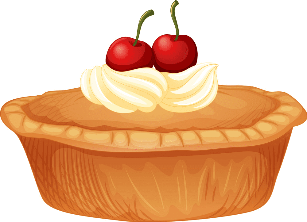 Cherry Pie clipart png free