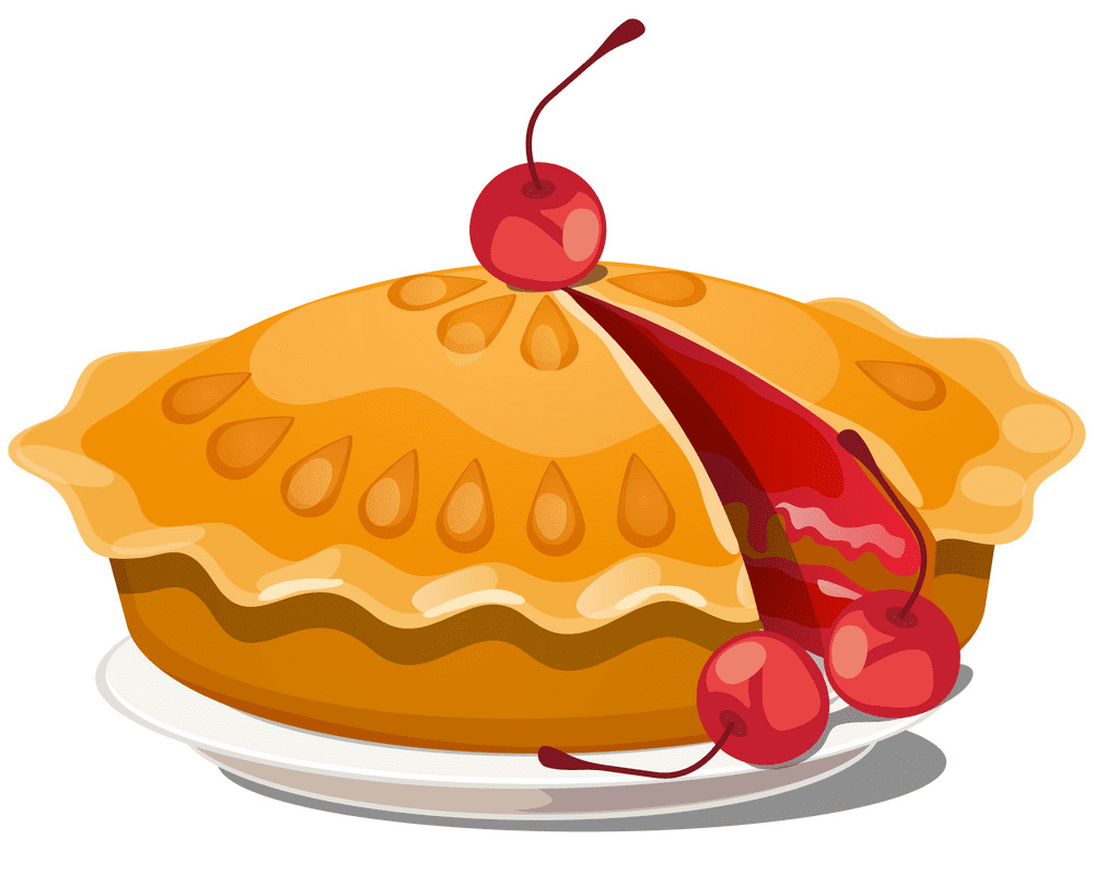 Cherry Pie clipart png