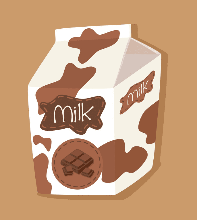 Chocolate Milk clipart for free