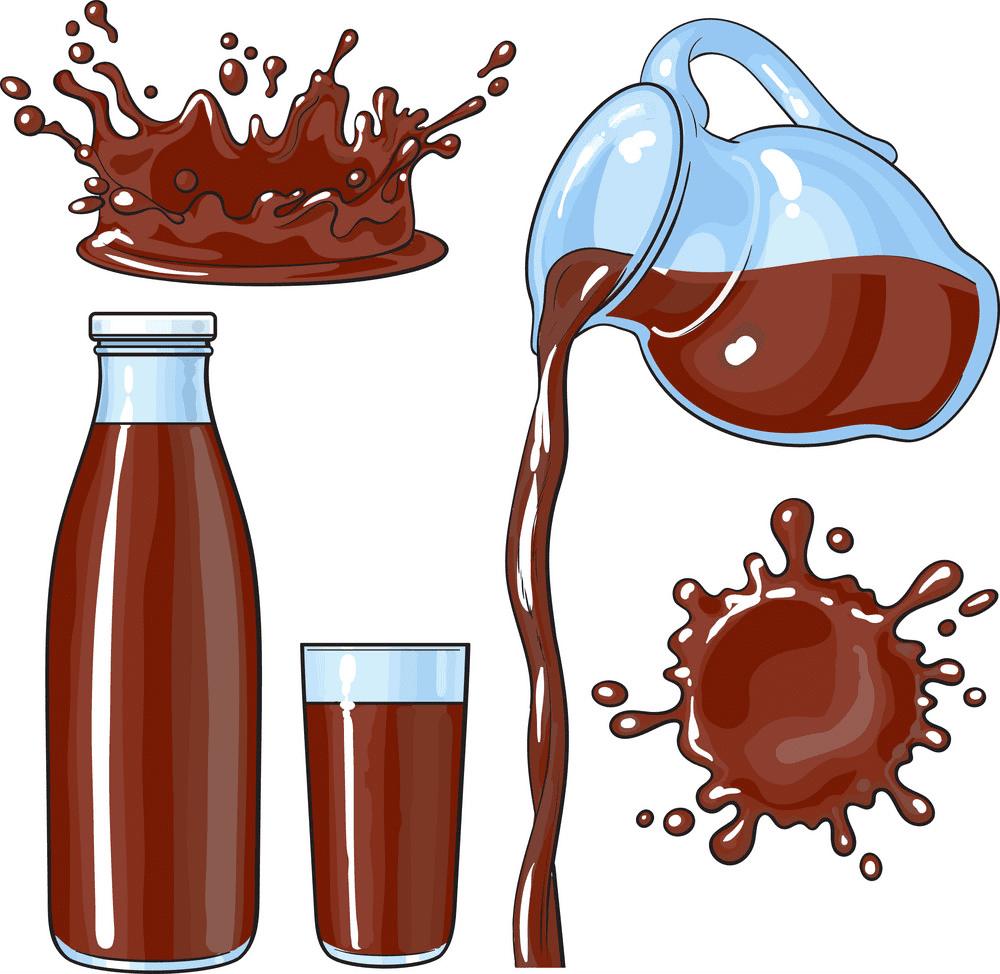 Chocolate Milk clipart image