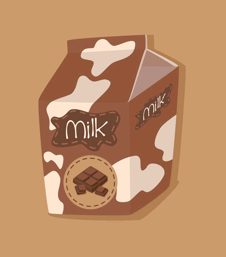 Chocolate Milk clipart png