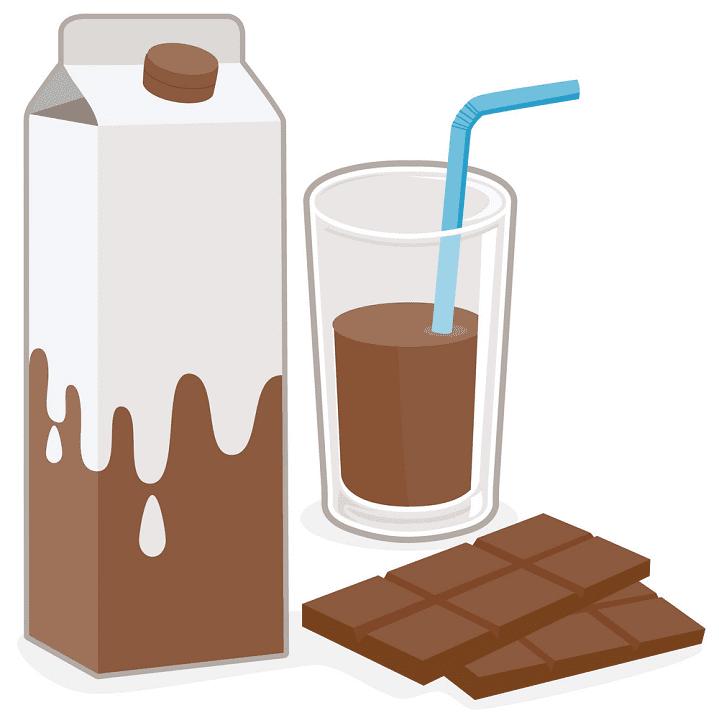 Chocolate Milk clipart