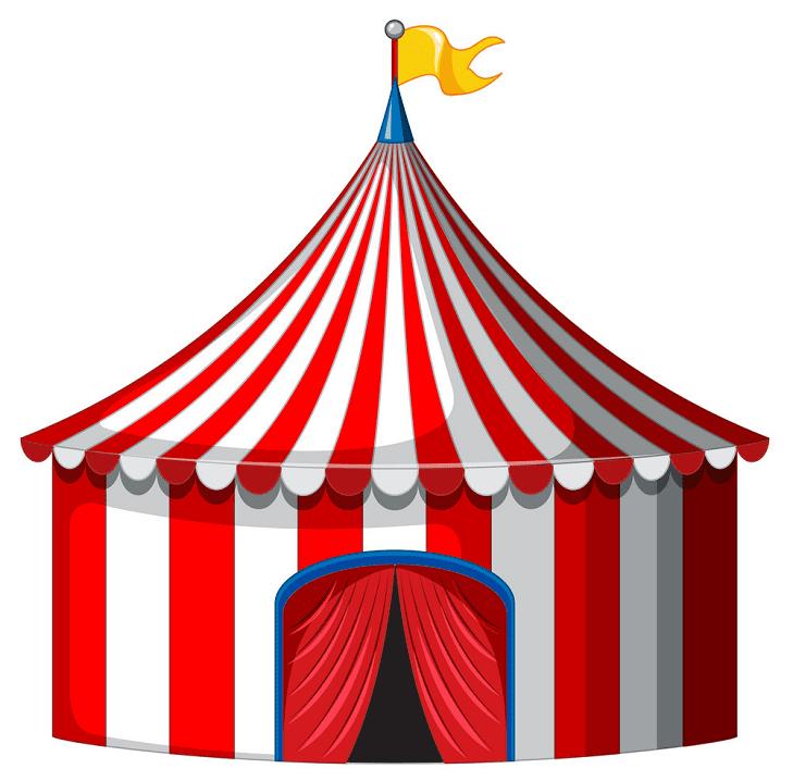 Circus Tent clipart 1