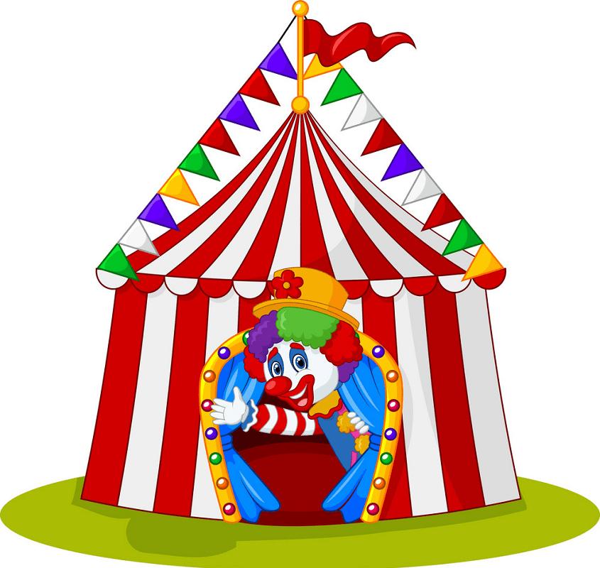 Circus Tent clipart 10