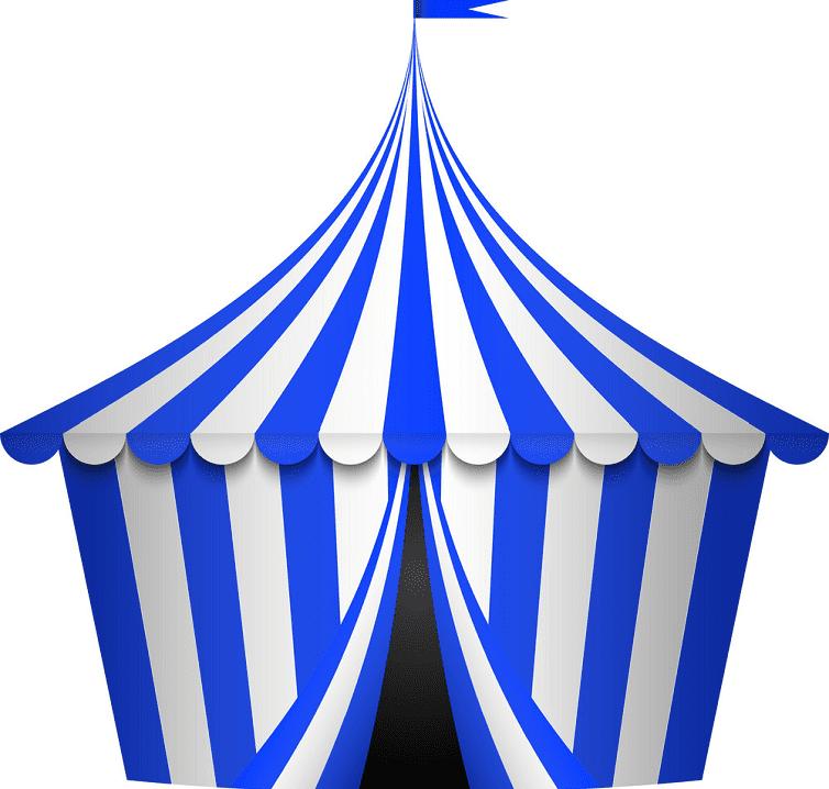 Circus Tent clipart 11