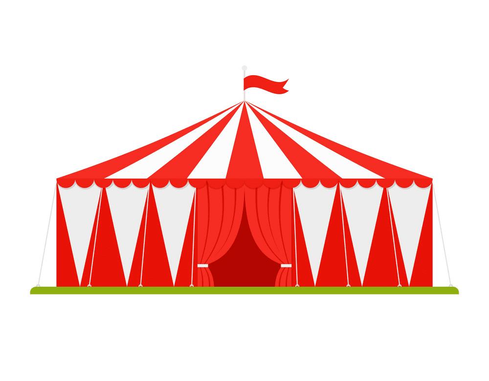 Circus Tent clipart 2