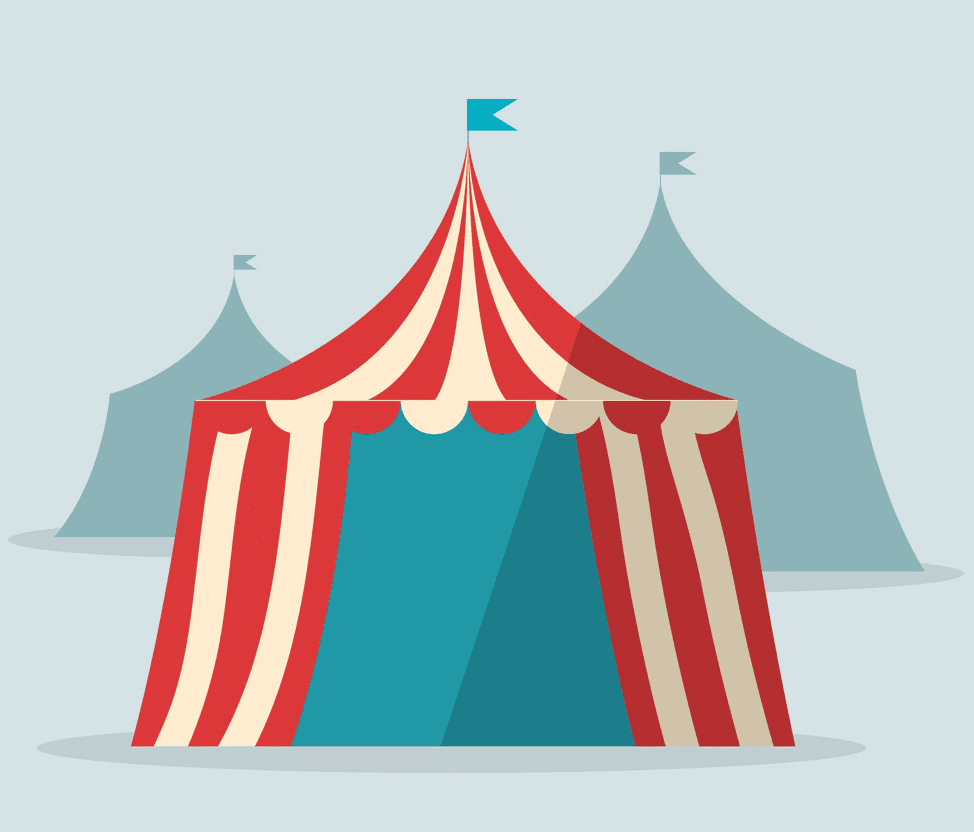Circus Tent clipart 3