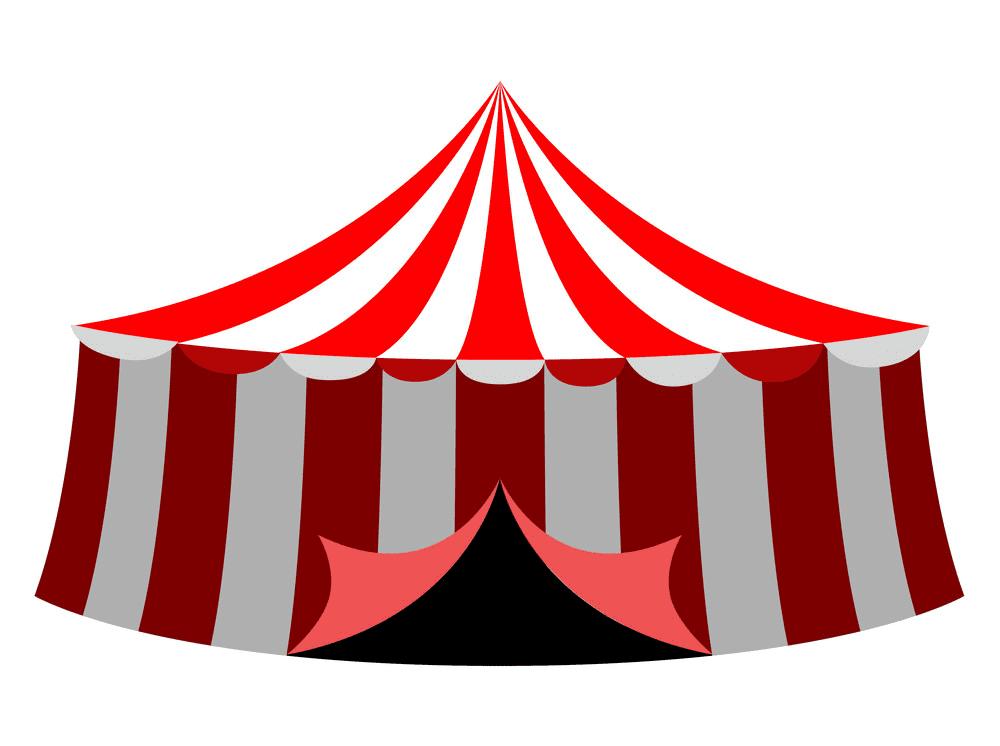 Circus Tent clipart 4