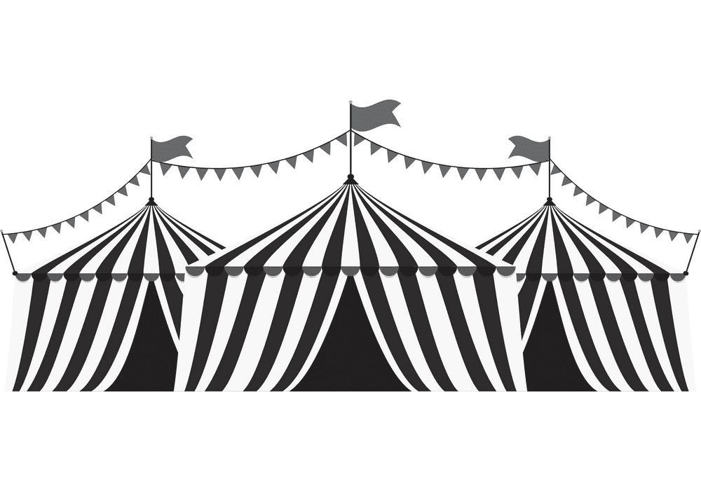 Circus Tent clipart 7