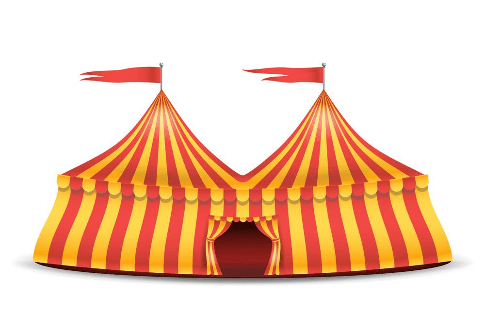 Circus Tent clipart 8
