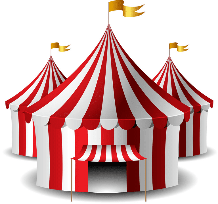 Circus Tent clipart 9