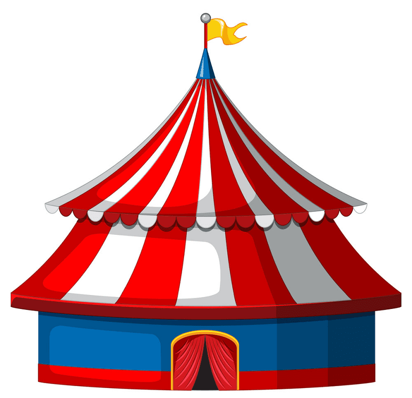 Circus Tent clipart download