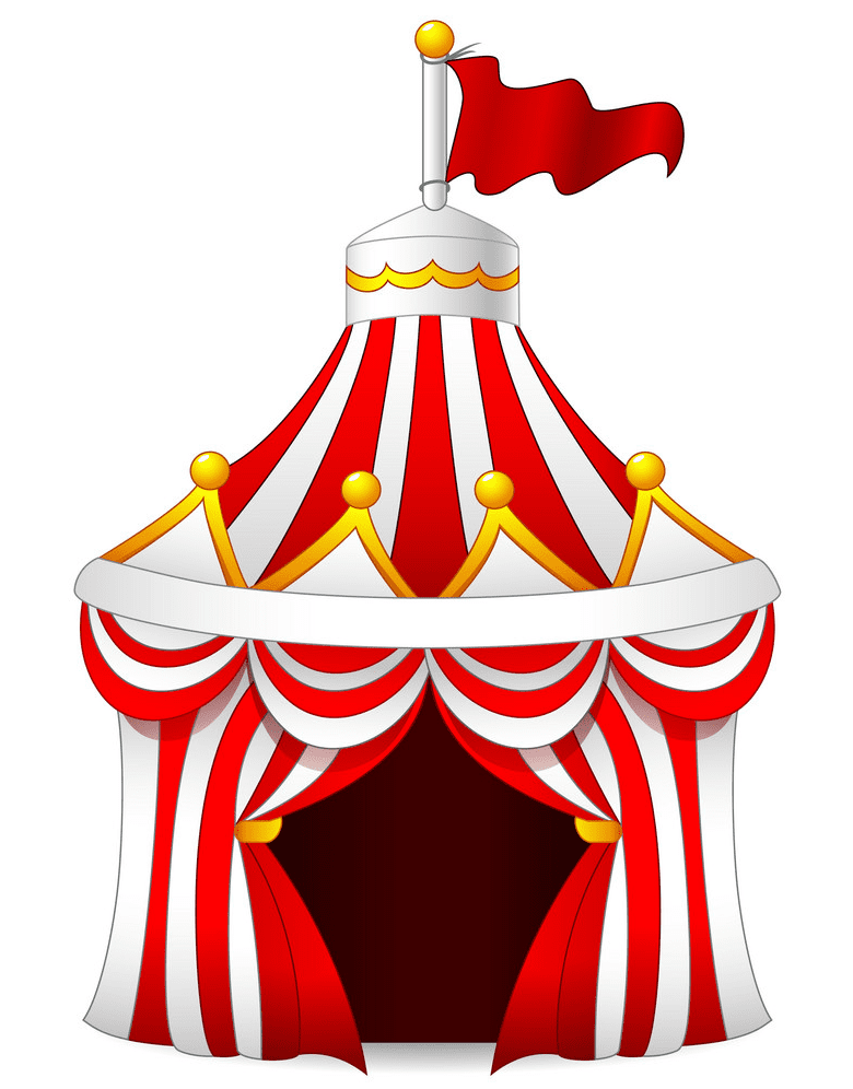 Circus Tent clipart free download