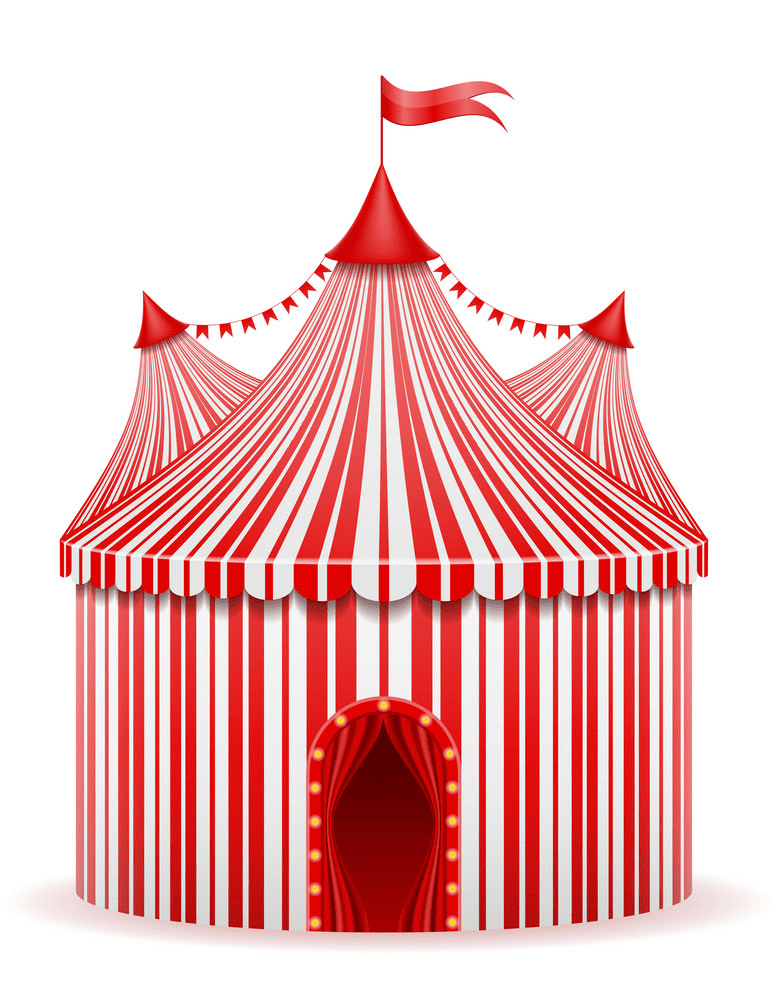 Circus Tent clipart free image